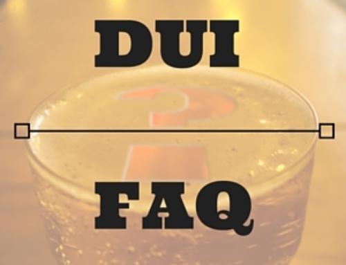 General DUI FAQ's in Phoenix Arizona
